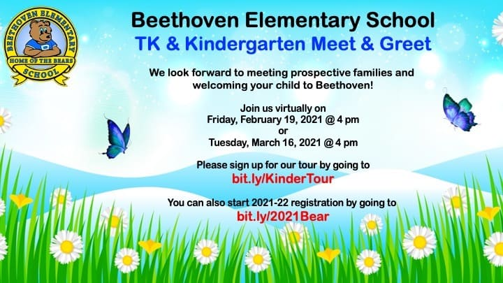 beethoven elementary kindergarten meet and greet feb 19