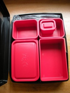 Laptop lunch box