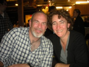 Paul Hibler and Sarah Auerswald