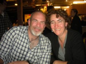 Paul Hibler and Sarah Auerswald