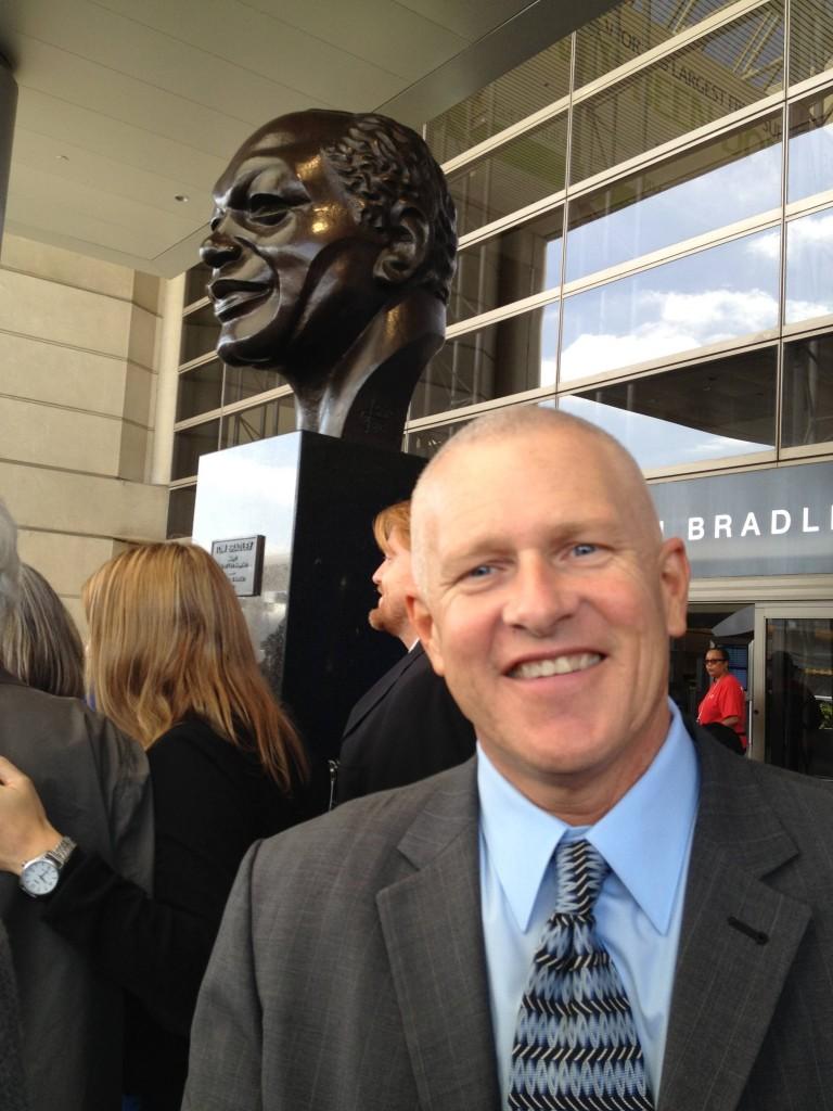 Mike Bonin, Los Angeles City Councilman, District 11 at LAX Bradley terminal