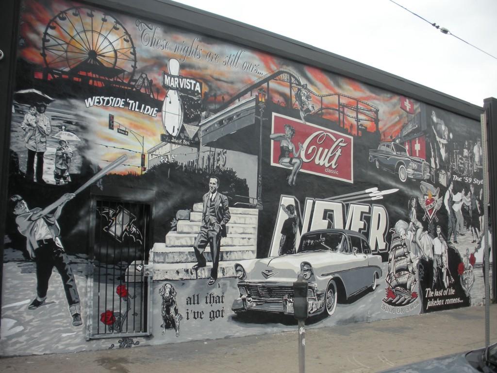 Mar Vista Floyd's mural