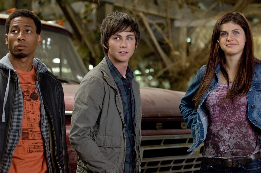 percy jackson and 2 friends