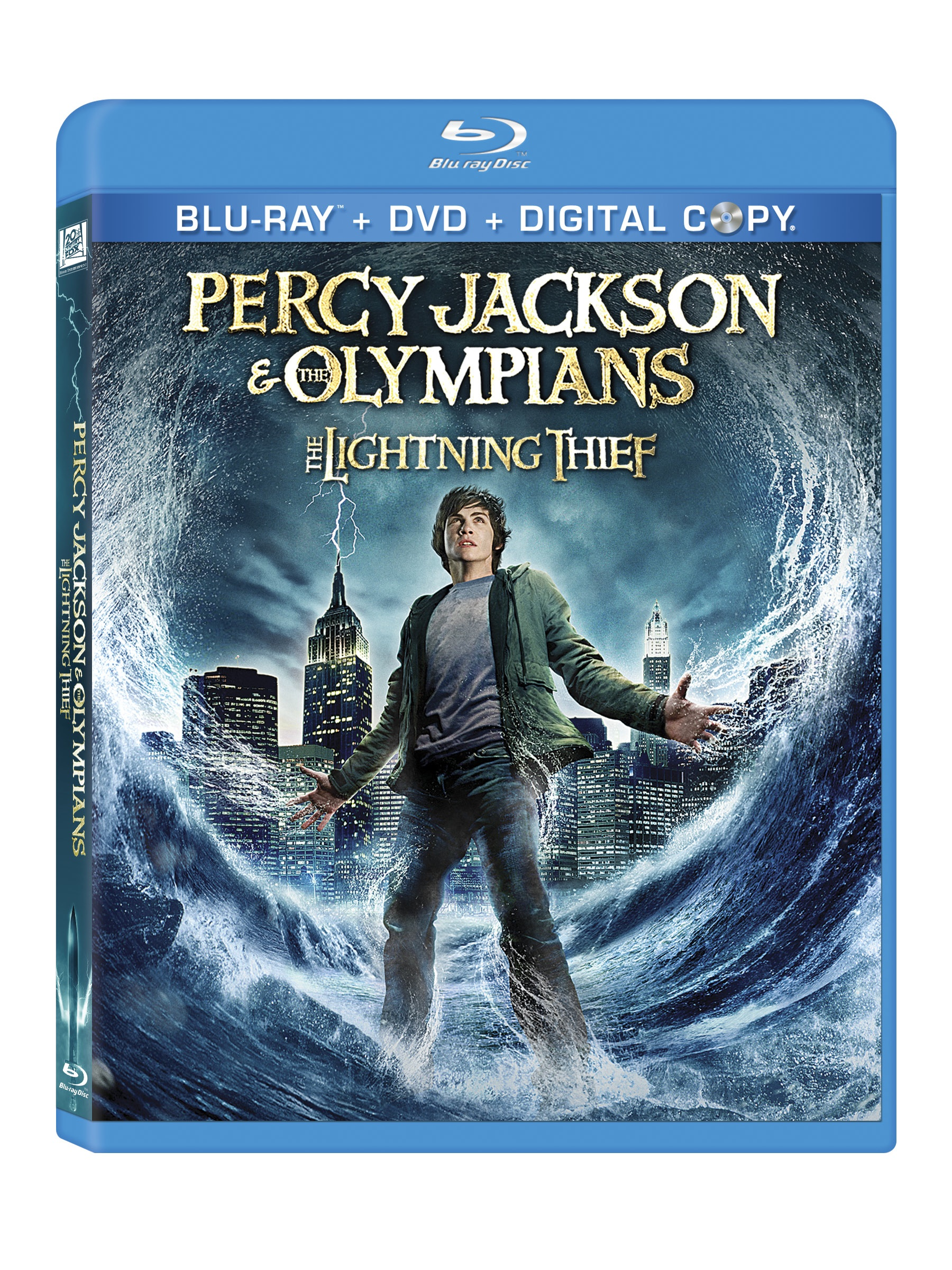 Percy Jackson And The Olympians: The Lightning Thief – DVD Review