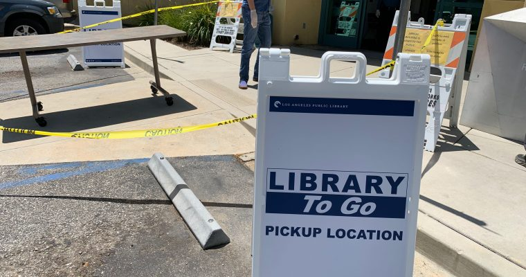Get Library Books in Mar Vista Once Again w/ Library To Go