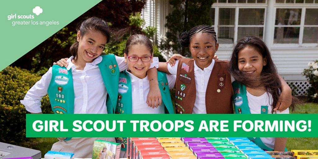 girl scout troops are forming