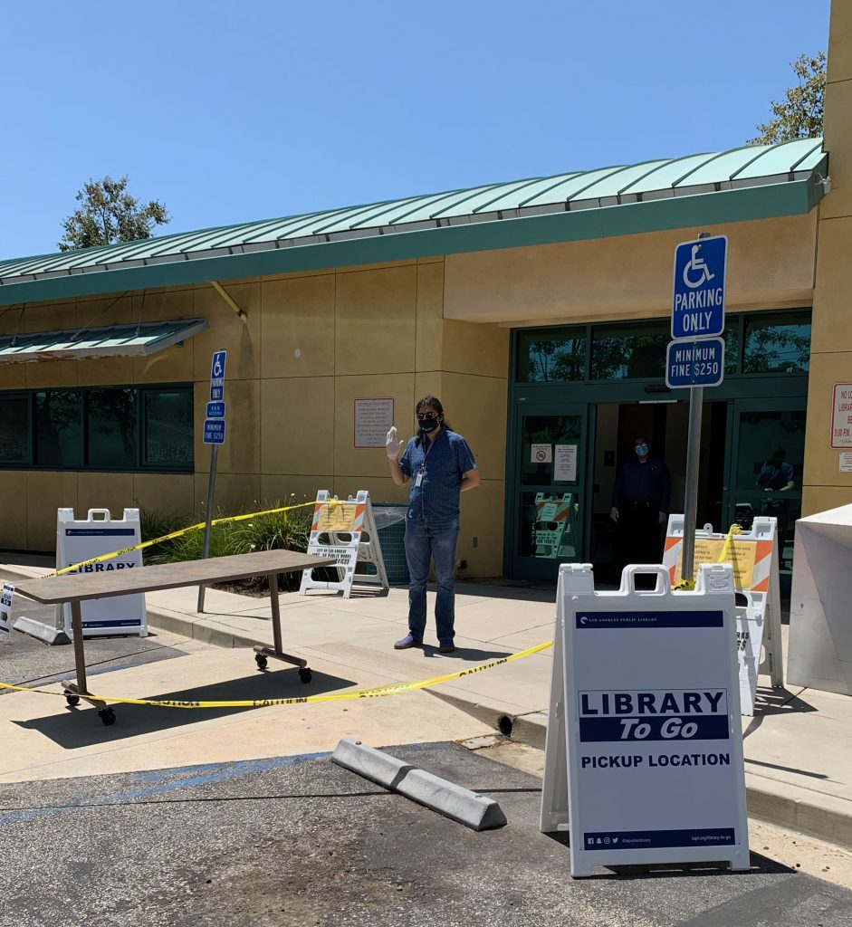 library to go mar vista