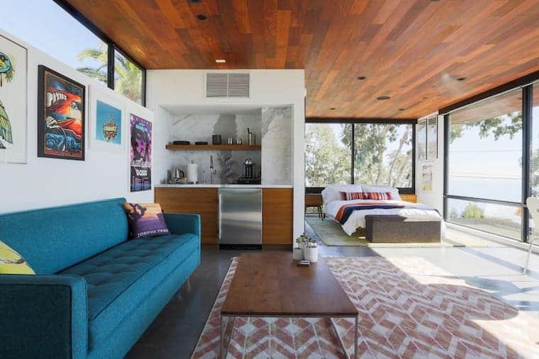 Mid-Century Modern Studio in Malibu