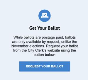 Empower LA request your ballot Neighborhood Council election 2021