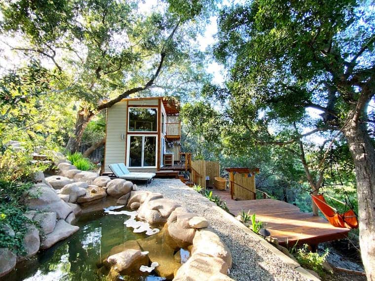 ShangriLaLa Tiny House Mountaintop Getaway in Malibu